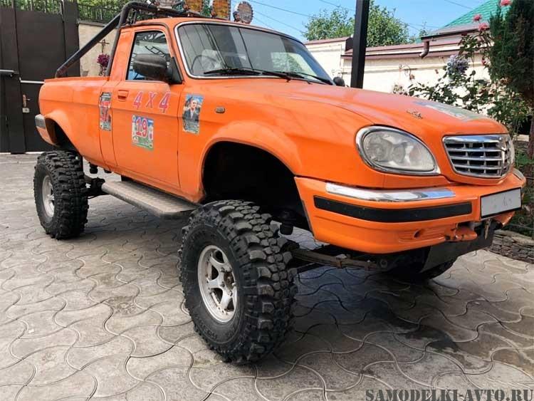 самодельный автомобиль пикап Волга