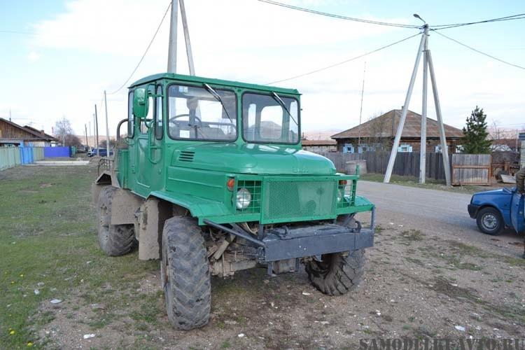 Трактор на базе ГАЗ-66