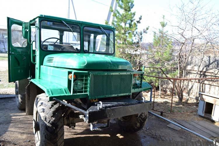 Трактор на базе ГАЗ-66 своими руками