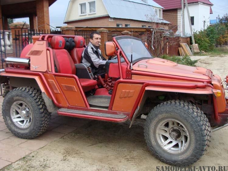 Авто самоделка на базе УАЗа