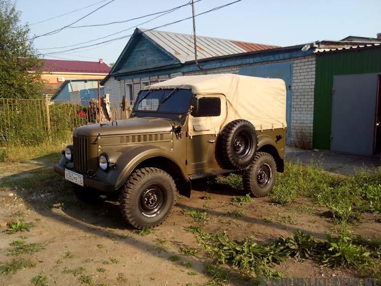 восстановление ГАЗ-69