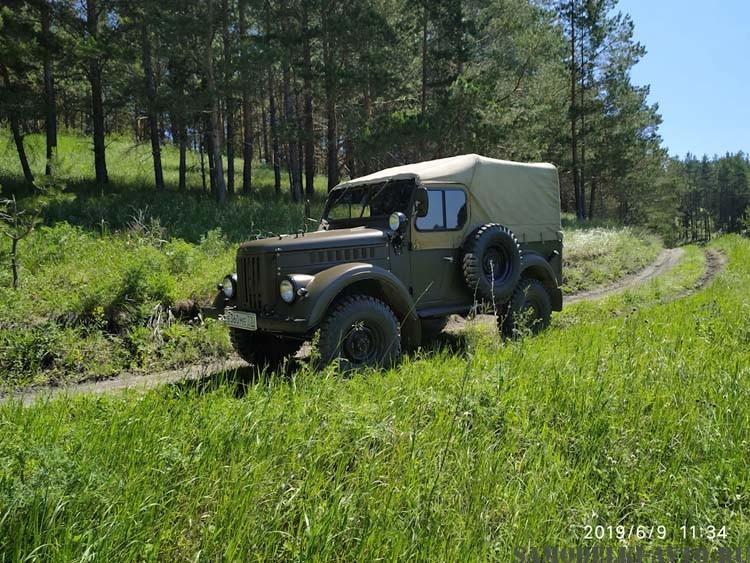 ГАЗ-69 реставрция