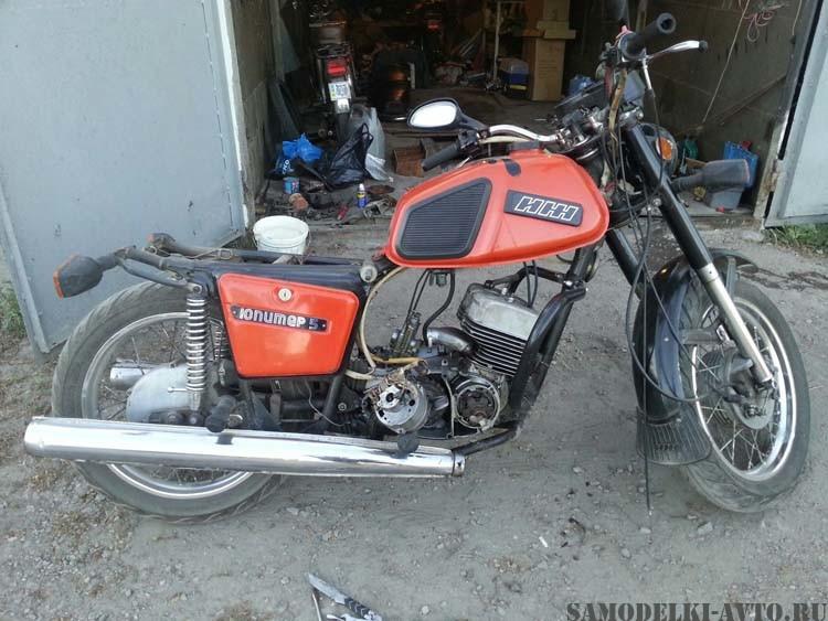 Восстановил мотоцикл Иж Юпитер 5