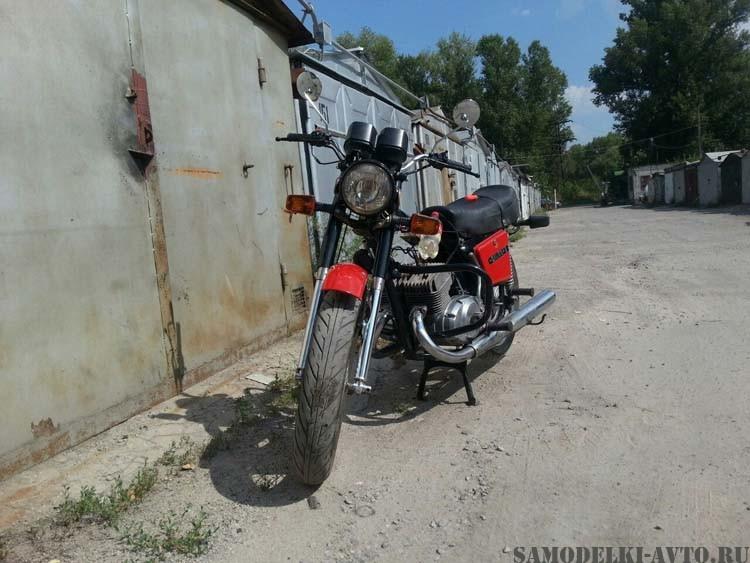 Восстановил мотоцикл Иж
