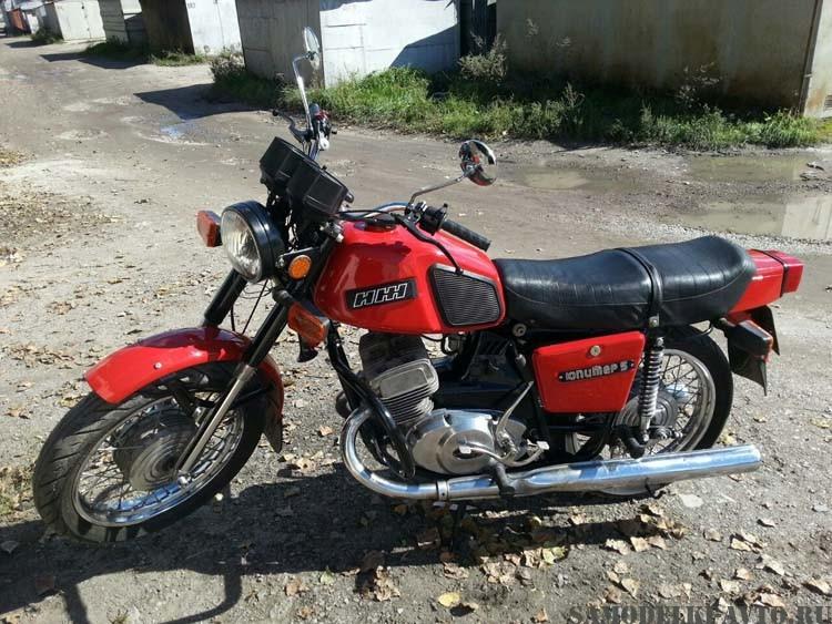Восстановление мотоцикл Иж Юпитер 5