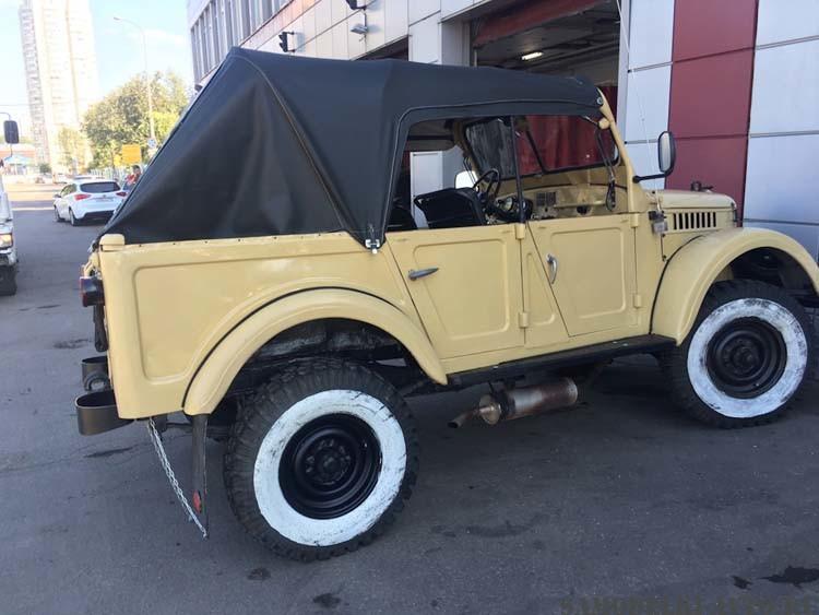 Автомобиль ГАЗ-69А восстановление