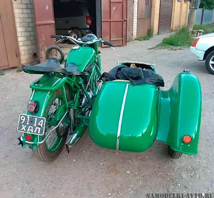 реставрация мотоцикла Иж-49