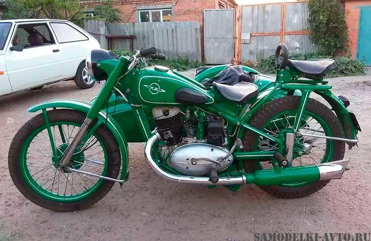 мотоцикл Иж-49