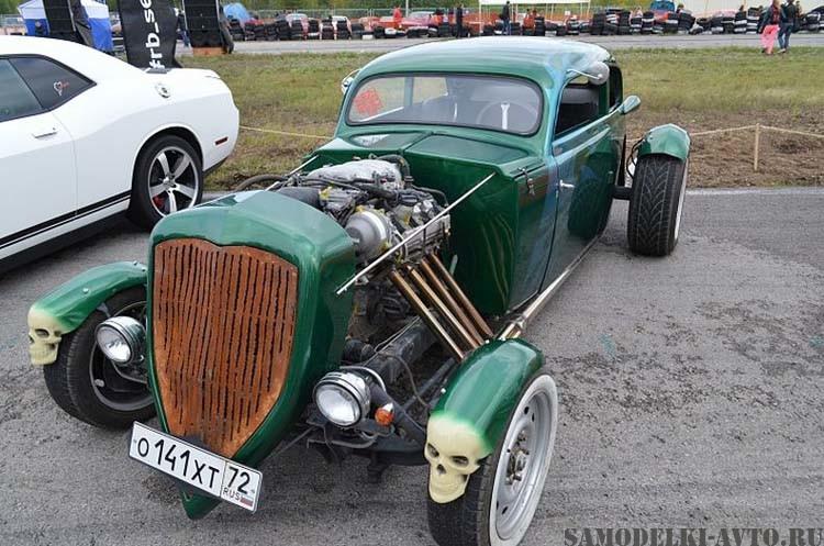 """Самодельный автомобиль """"Hot-Rod"""" Custom"""