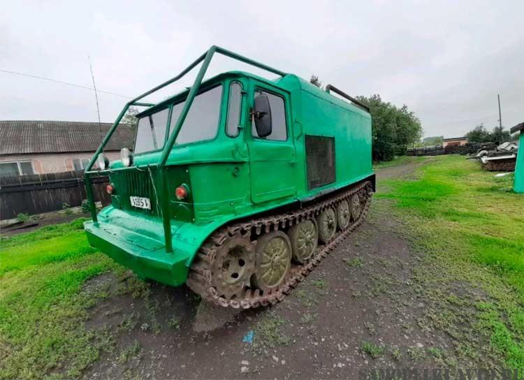 ГАЗ-66 на гусеничном ходу