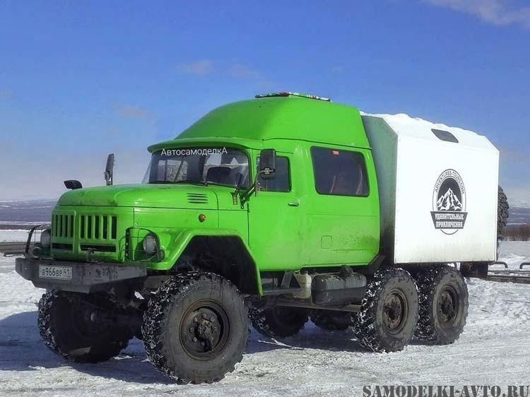 самодельный автомобиль для экспедиций
