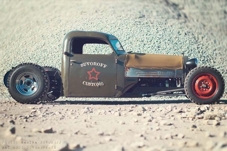 Авто самоделка RAT ROD Military Truck