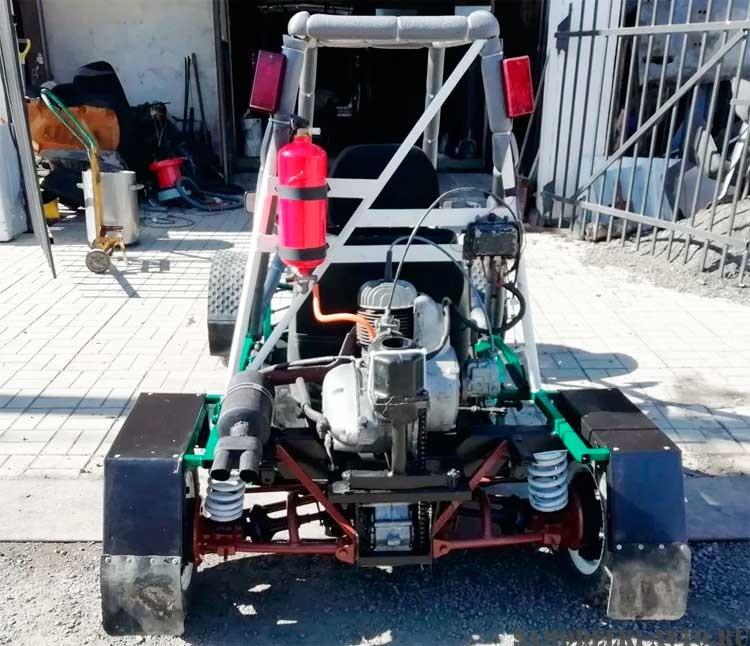 багги с двигателем от мотороллера