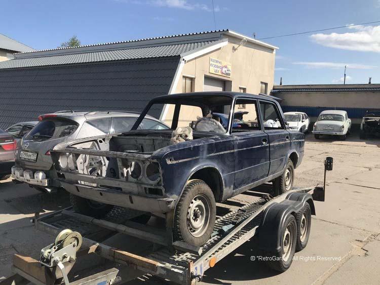 Реставрация автомобиля ВАЗ-2103