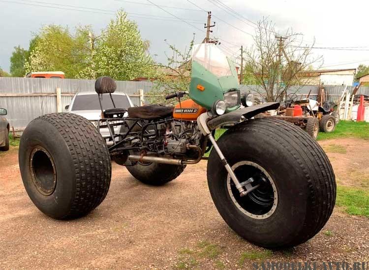 трицикл на базе мотоцикла