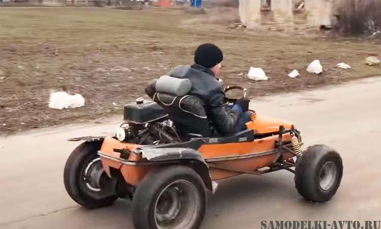 самоделка из мото коляски