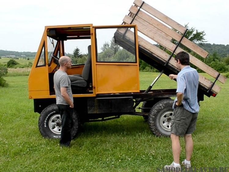 самодельный автомобиль грузовик