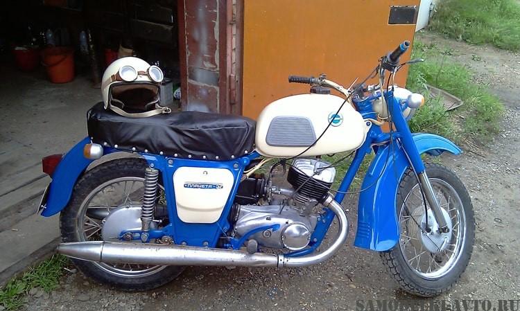 восстановление мотоцикла Иж