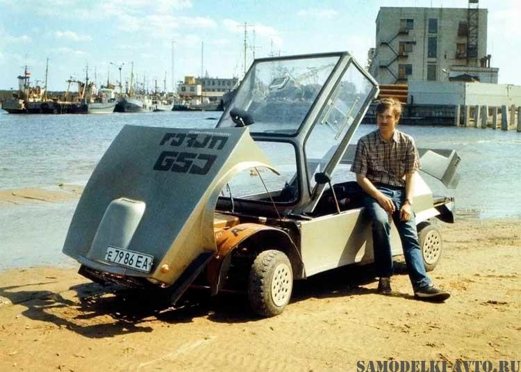 самодельный автомобиль