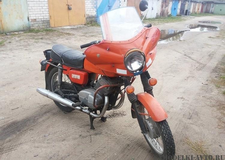 Восстановление мотоцикла Чезет 350