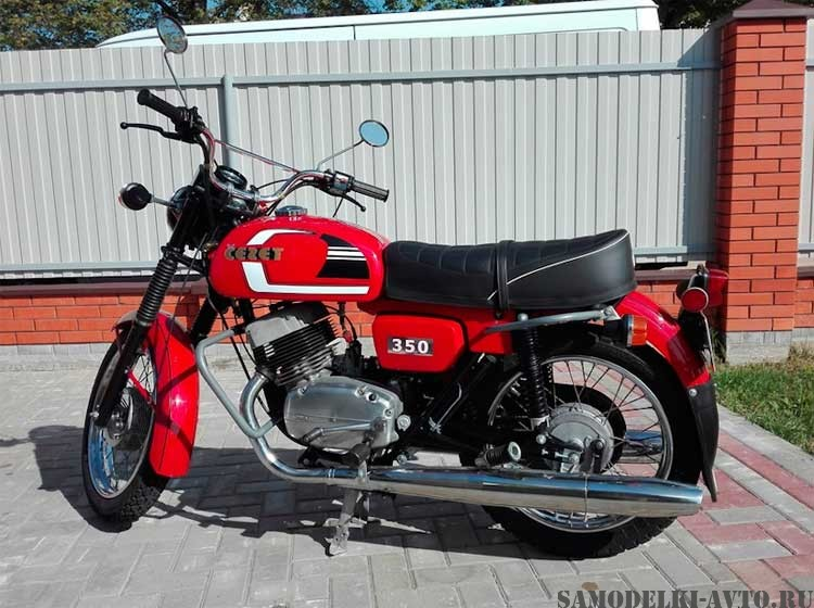 мотоцикл Чезет