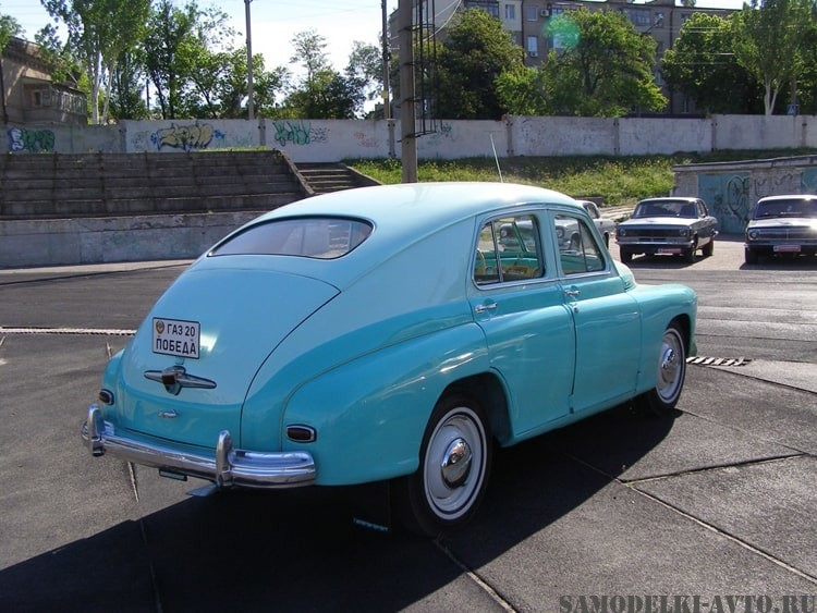 Реставрация автомобиля ГАЗ-20